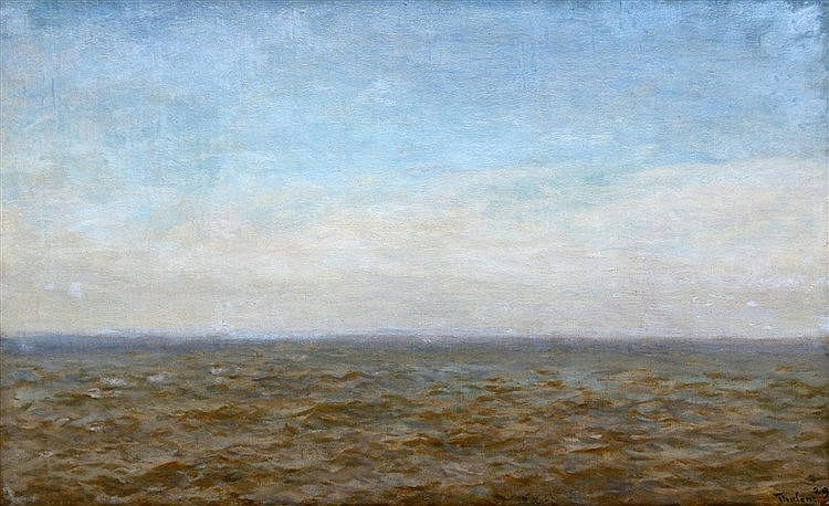 Willem Bastiaan Tholen (1860-1931) Zuiderzee. Signed and dated '2