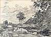 Willem Bastiaan Tholen (1860-1931) Landscape with a farm by a dit, Cornelis Rol, €0