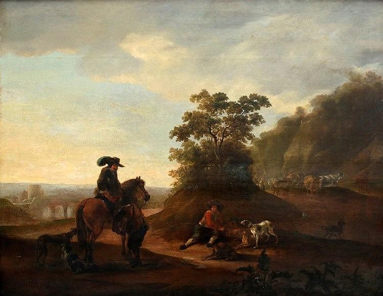 Toegeschreven aan Hendrick Verschuring (1627-1690) A page helps a