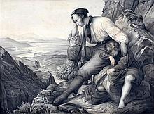 Toegeschreven aan Alexandre-Gabriel Decamps (1803-1860) Man with