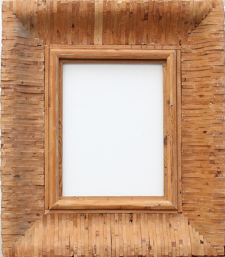Kees Franse (1924-1982) A wooden frame. Unsigned. Not dated ca. 1