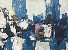George August Stahl (1903-1982) Composition. Signed lower right.