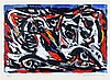 Theo Wolvecamp (1925-1992) Abstract composition. Signed and dated, Theo Wilhelm Wolvekamp, €0
