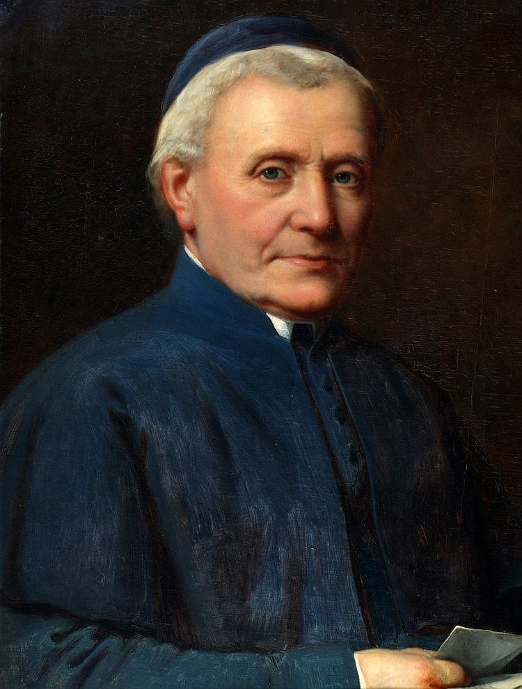 Hollandse School 19e eeuw Portrait of pastor Bongaerts, pastor in