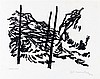 Metten Koornstra (1912-1978) Three lithographs with abstract comp