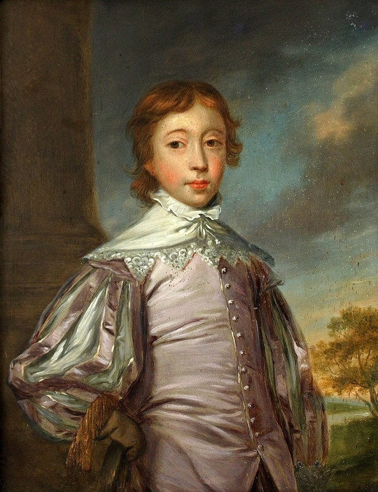 Naar Joshua Reynolds (1723-1792) Portrait of a young nobleman in