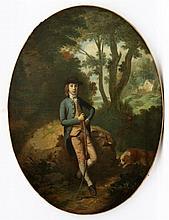 Navolger van Thomas Gainsborough (1727-1788) Portrait of Frederic