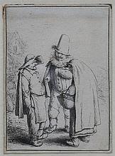 Adriaen van Ostade (1610-1685) Three grotesque figures. Literatur