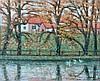 William Degouve de Nuncques (1867-1935) River landscape. Signed w, William Degouve de Nuncques, €0
