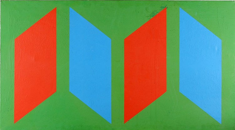 Toegeschreven aan Bob Bonies (1937-) A composition with geometric
