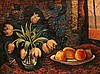 Herman Bieling (1887-1964) Still life with tulips and fruit. Sign, Hermann Friedrich Bieling, €0