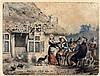 Martinus Wilhelmus Liernur (1833-1901) Drinking company in front, Martinus Wilhelmus Liernur, €0
