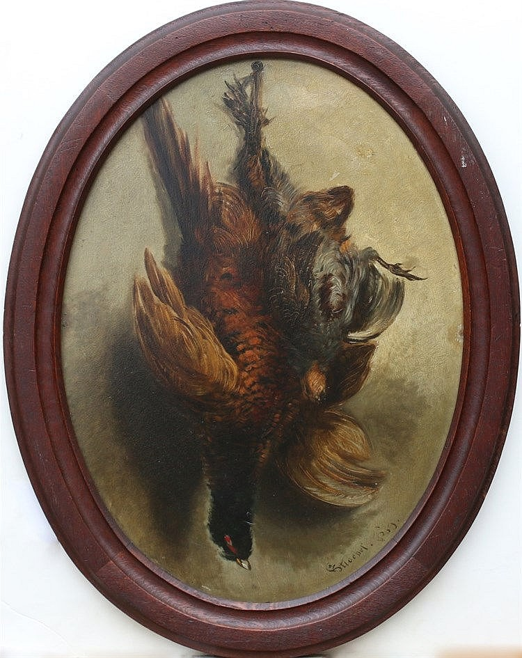 Johannes Anthonie Balthazar Stroebel (1821-1905) Still life with