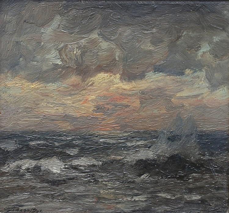 Gerardus Lodewijk Franciscus Jacobus Bal (1872-1912) A coastal sc