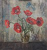 Maarten Jungmann (1877-1964) A still life with poppies. Signed lo, Maarten Joh. Balthasar Jungmann, €0