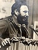 Eight photographs of Fidel Castro and others. Verso stamped Kord