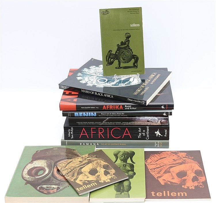 [African art] Arts Primitifs; Collection Hubert Goldet. Paris,