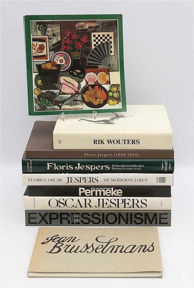 [Belgian Art] Jean F. Buyck. Floris & Oscar Jespers; de moderne