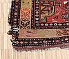 A Persian carpet, Kashgai. 260 x 112 cm.