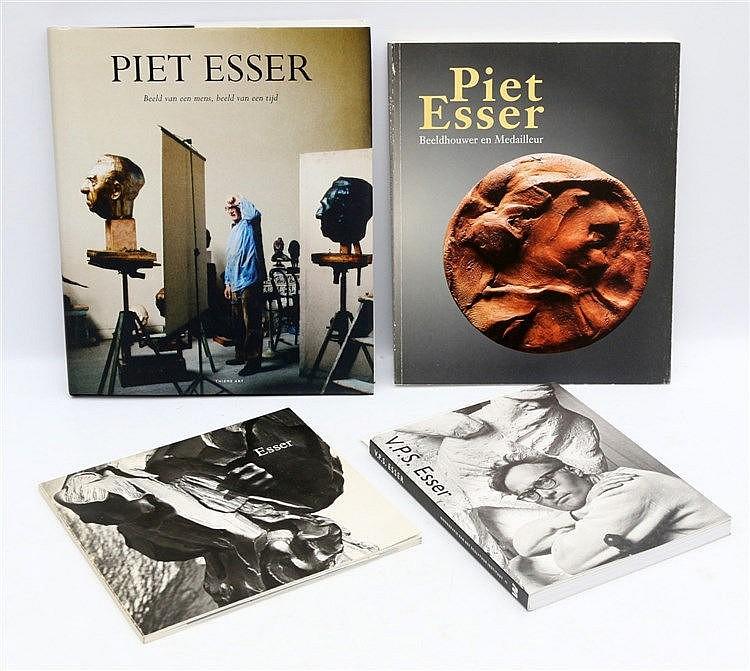 [Modern Art] Piet Esser; beeld van een mens, beeld van een tijd.