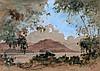 Surjosoebroto Abdullah (1878-1941) An Indonesian landscape. Signe, Surjosoebroto Abdullah, €0