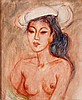 Theo Meier (1908-1982) A young Balinese woman. Signed and dated ',  Theomeier, €0