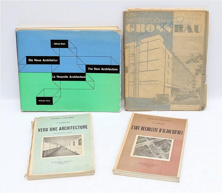 [Architectuur] Dr. Erich Kutzner. Ein neuzeitlicher Grossbau; vo