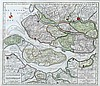 Isaak Tirion (1705-1765) New map of the South Western part of Sou