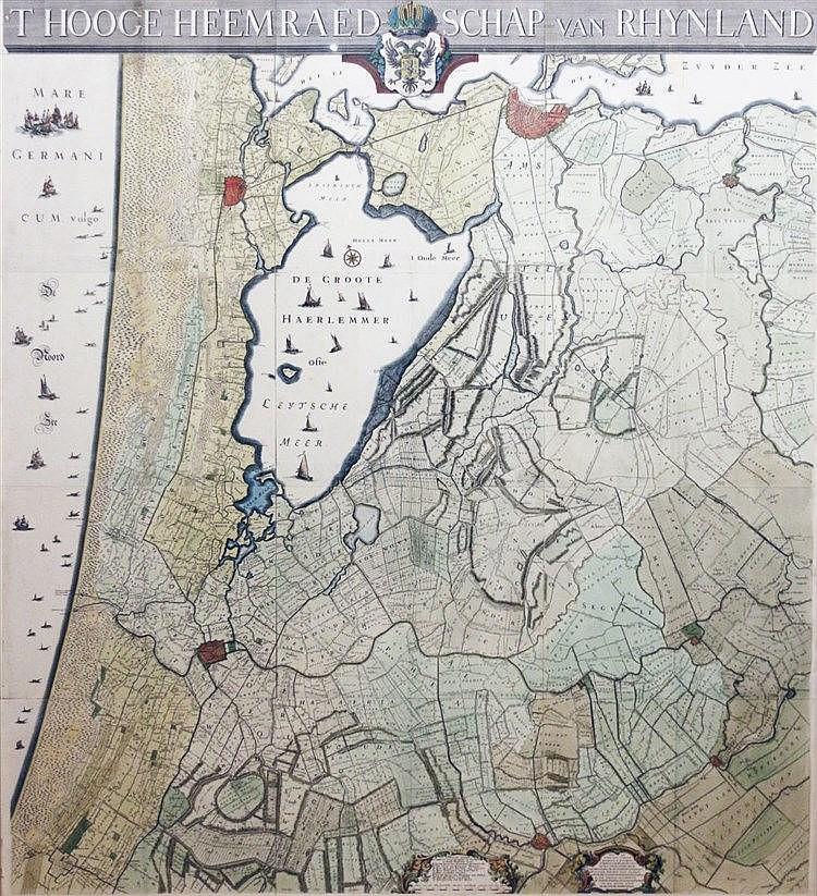 Melchior Bolstra (1704-1779) 't Hooge Heemraedschap van Rhynland