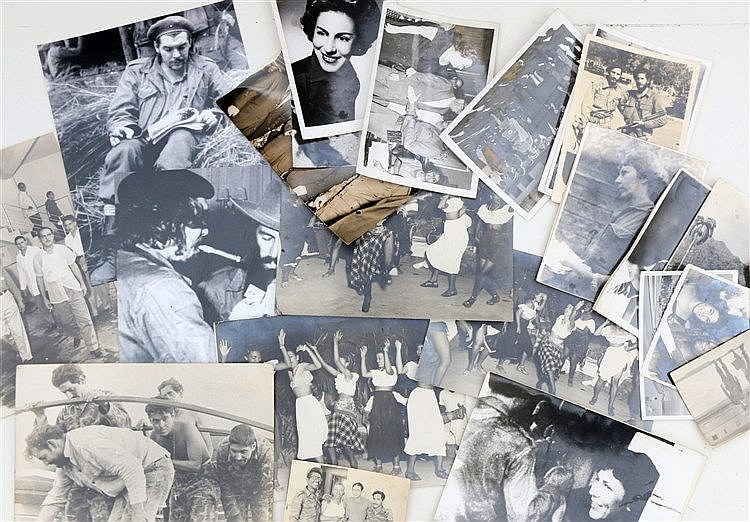 24 photographs of Cuba and the Cuban revolution a.o. young women