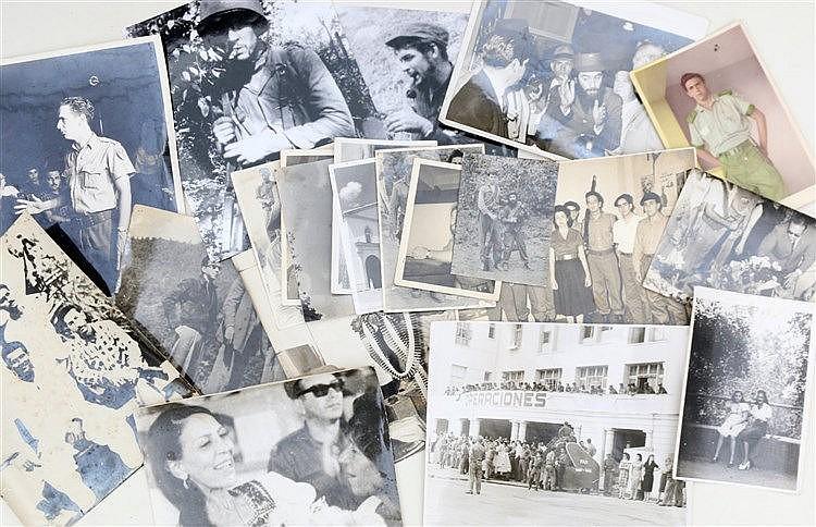 21 photographs on Cuba and the Cuban revolution. (21x)