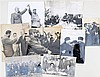 Eight photographs of Fidel Castro with various dignitaries. (8x)
