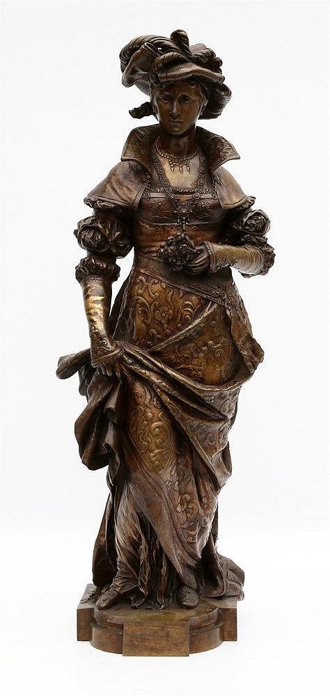 Cesar Constantino Raimon Ceribelli (1841-1918) A bronze sculpture
