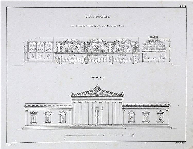 [Architecture] Leo von Klenze. Sammlung architectonischer Entwür