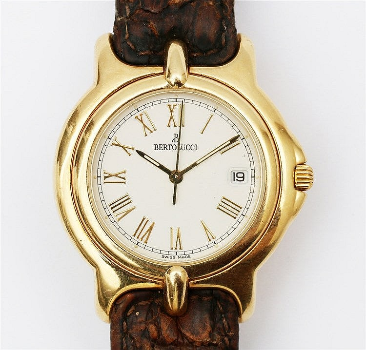 Bertolucci Pulchra 18 krt gold watch. No. 113 8050 68. Quartz