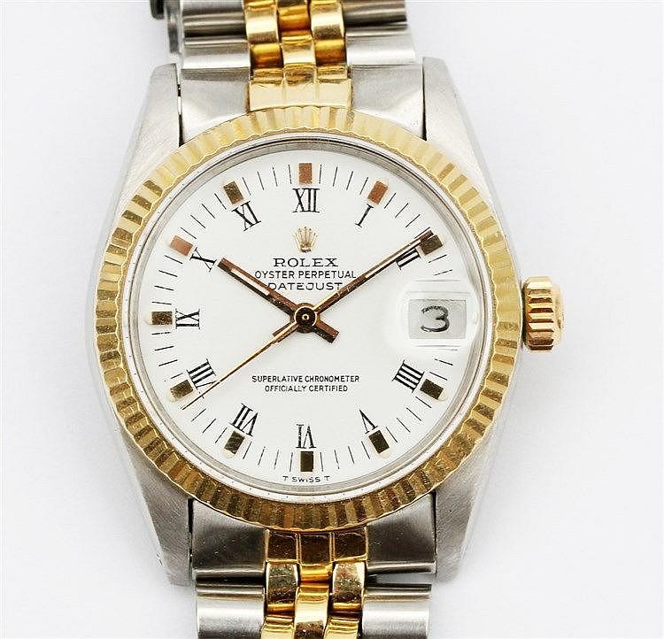 Rolex wristwatch, Rolex Oyster Perpetual DateJust. ref. no. 6827