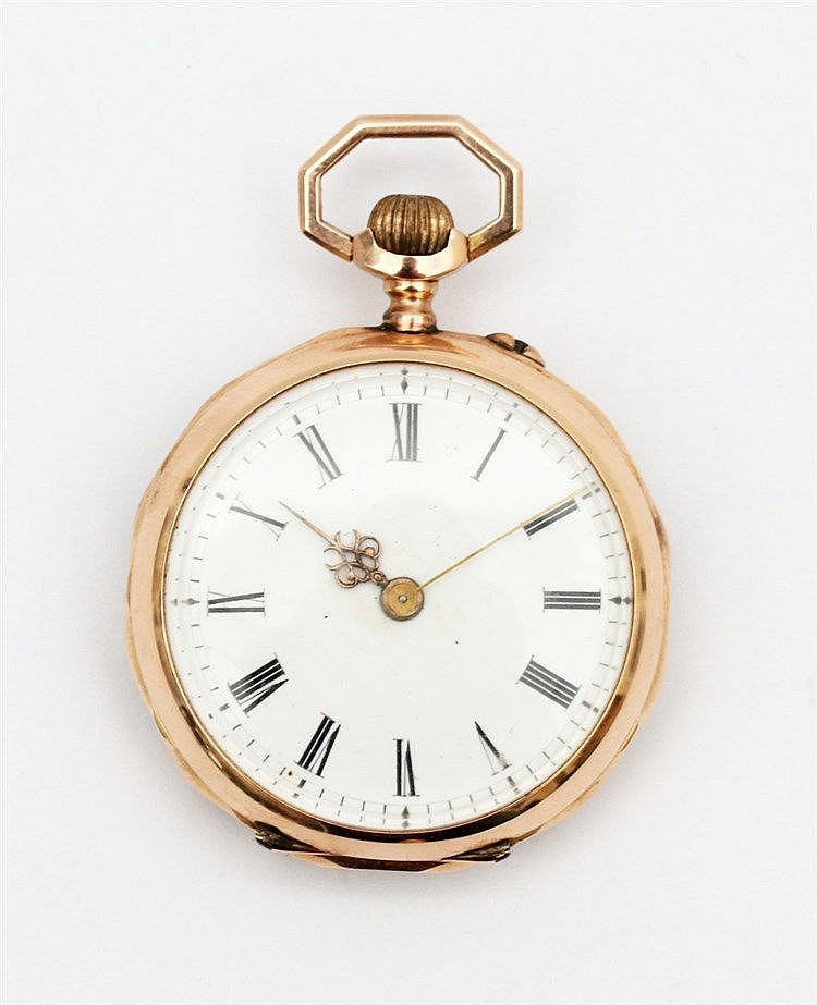 Ladies pocket watch, 19th century. Diameter 30 mm.