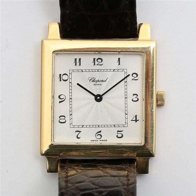 Gold watch, Chopard Classics. Ref. 16/3296. Handwinding. Guill