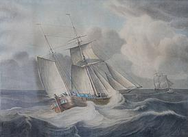 Johan Hendrik Boshamer (1775-1862) Twee