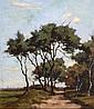 Willem Noordijk (1887-1970) Landschap met, Willem Frederik Noordijk, Click for value