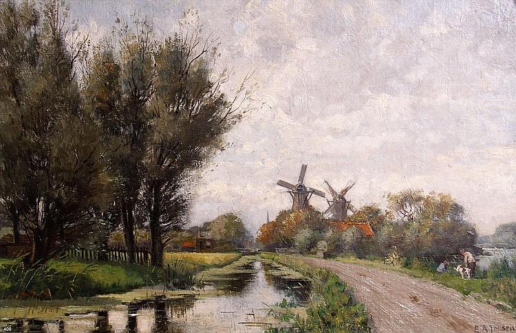 Egbertus Antonie Jansen (1877-1957) 'Korte Kade