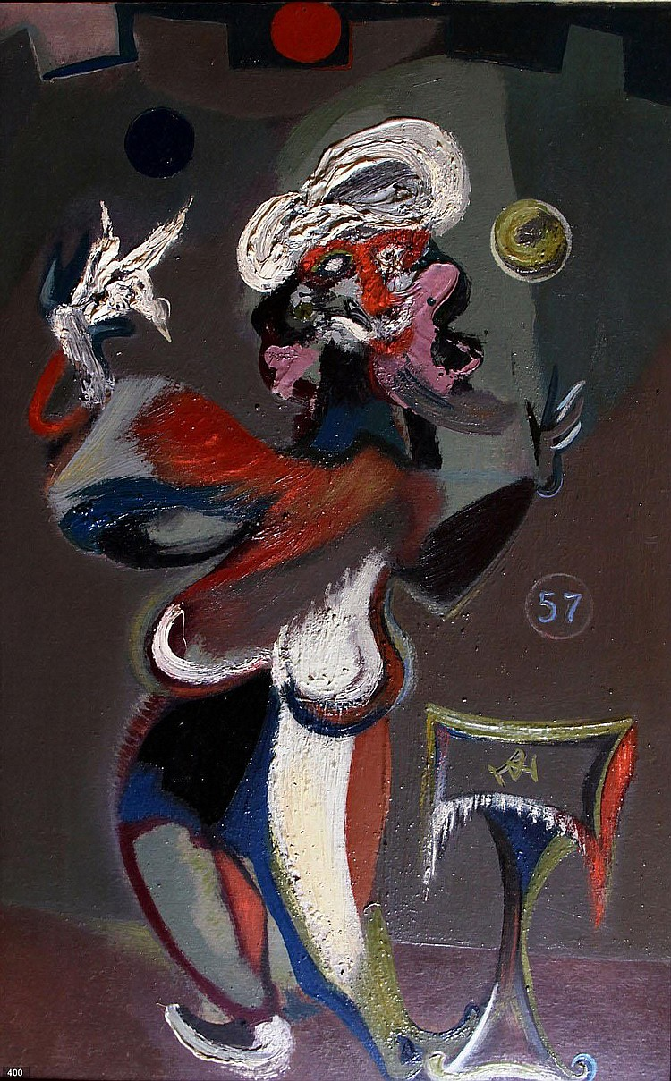 Dolf Henkes (1903-1989) Jonglerende man.