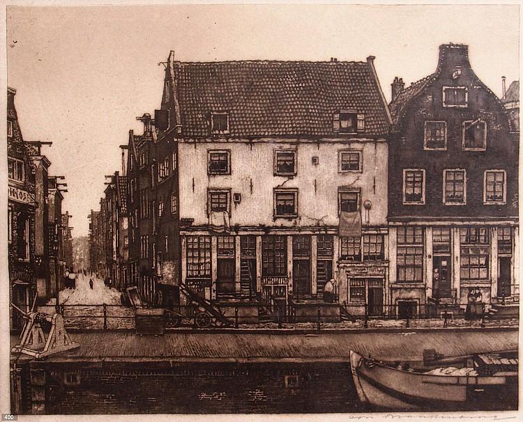 Cornelis Brandenburg (1883-1954) St. Antoniussluis