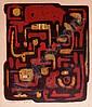 Wim Motz (1900-1977) Abstracte compositie., Wilhelm Johann Motz, Click for value