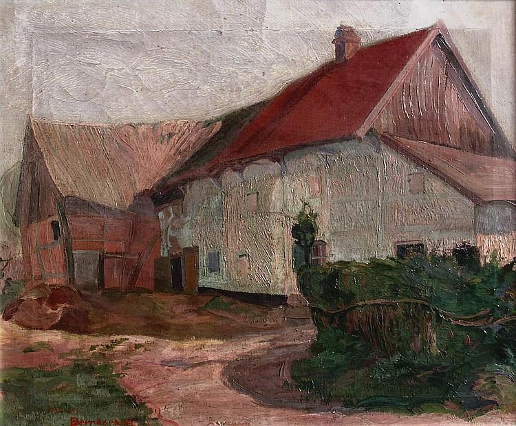 Johan Theodorus Berndsen (1890-?) Boerderij.