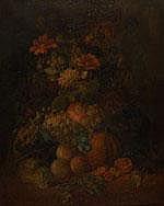 Eelke Jelles Eelkema (1788-1839) Bloemstilleven.