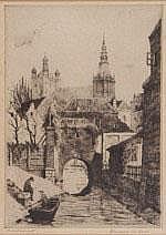 Hendrik de Laat (1900-1980) 'Marktstraat', Den