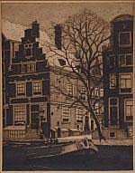 Frans Everbag (1877-1947) 'Heerengracht'.