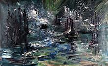 Henri Kley (1903-1977) 'Noorwegen'. Gesigneerd r.o