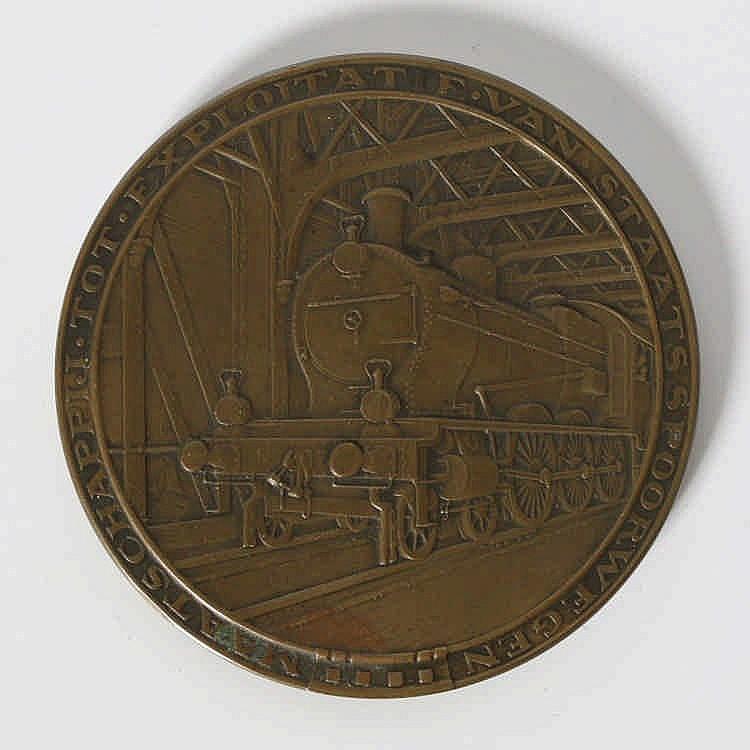 Johannes Cornelis Wienecke (1872-1945) Een bronzen